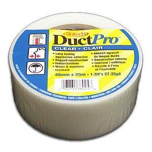 Cantech DuctPro, clear duct tape.