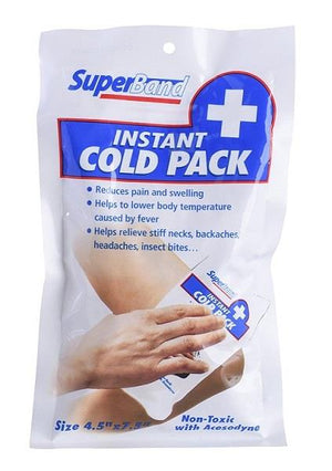 SuperBand Instant Cold Pack. Single.