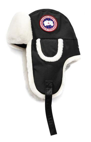 Canada Goose, Shearling Co-Pilot hat. Ladies.