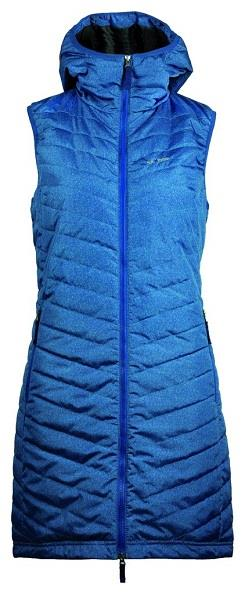 Skhoop, The Debbie long Vest. Quilted. Hooded. Ladies.