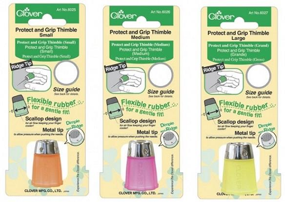 Clover, Protect and Grip Thimble. Single.
