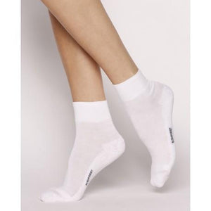 Bleuforet Comfort Sport Ankle Socks in White
