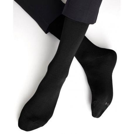 Bleuforet Men's Egyptian Cotton Socks in Black
