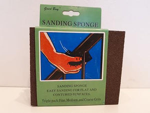 Good Buy 3 pack of sanding sponges