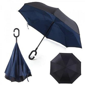Windproof Umbrella in Blue
