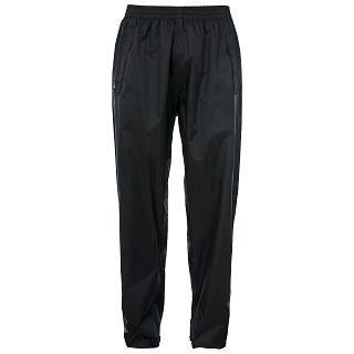 Trespass Qikpac Waterproof Trousers in Black