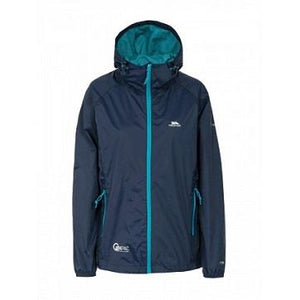 Trespass Qikpac Waterproof Women's Coat in Navy