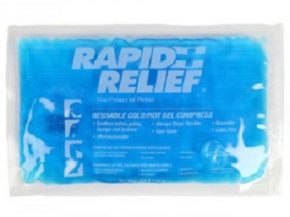 Rapid Relief Reusable Hot/Cold Gel Compress Large