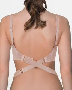 Fashion Essentials Bra Back Converter in Beige