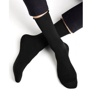 Bleuforet Men's Roll-Top Egyptian Cotton Socks