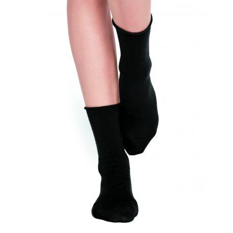 Bleuforet Merino Wool Blend Socks in Black