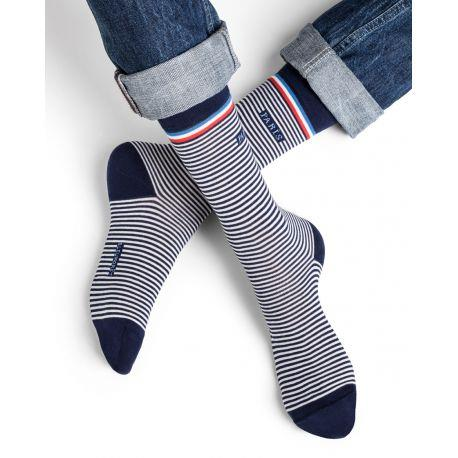 Bleuforet Men's Collection French Motif Socks