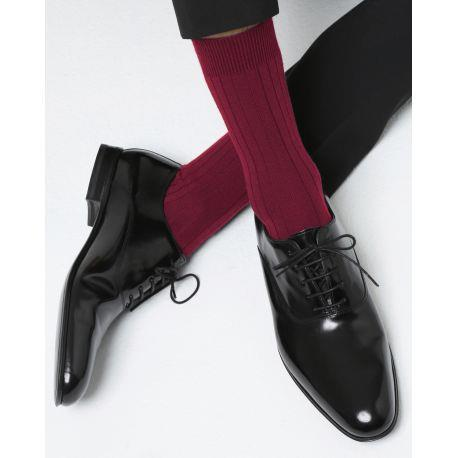 Bleuforet Men's Merino Wool Socks in Pommard