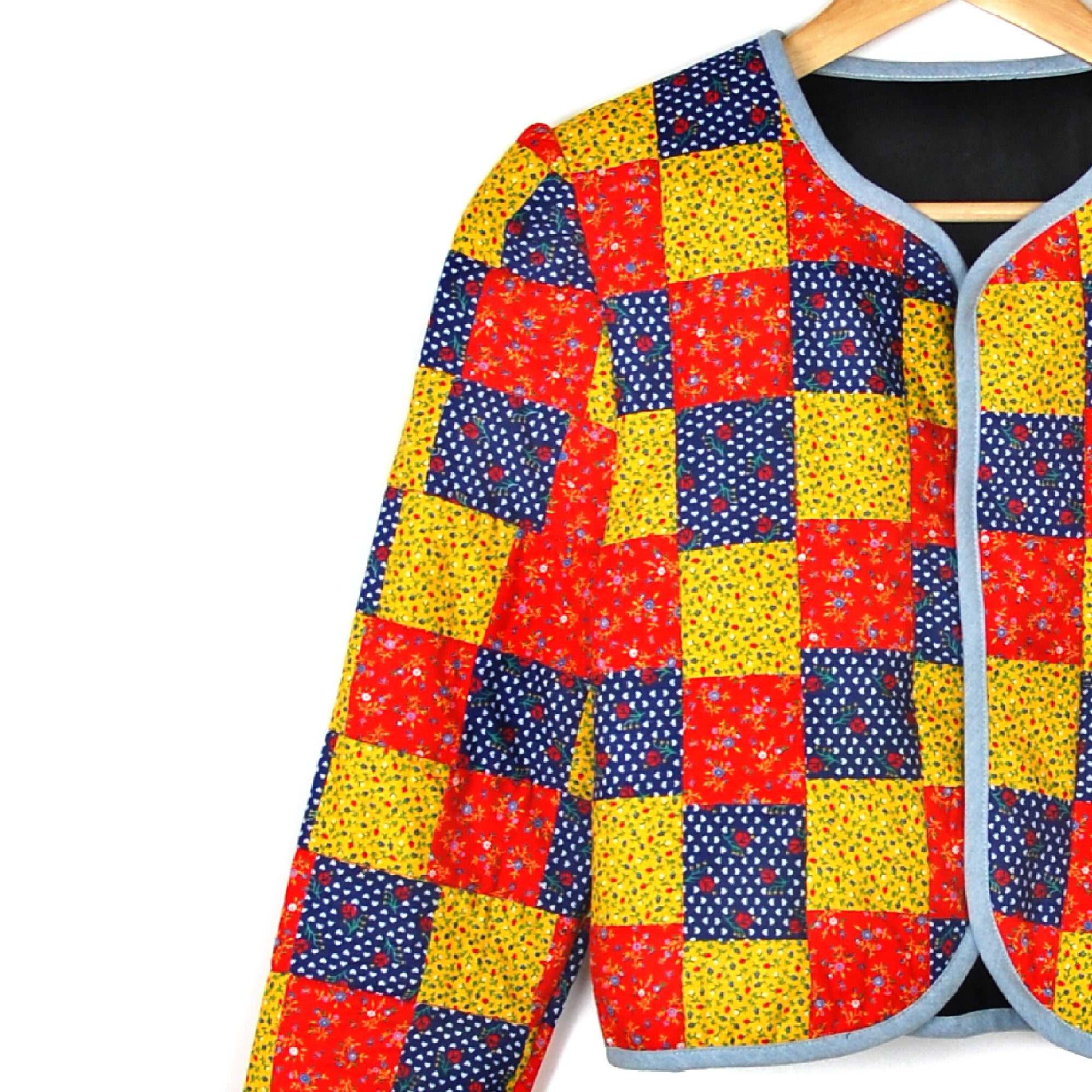 PRIMARY PATCHWORK QUILTED JACKET - Late to the Party