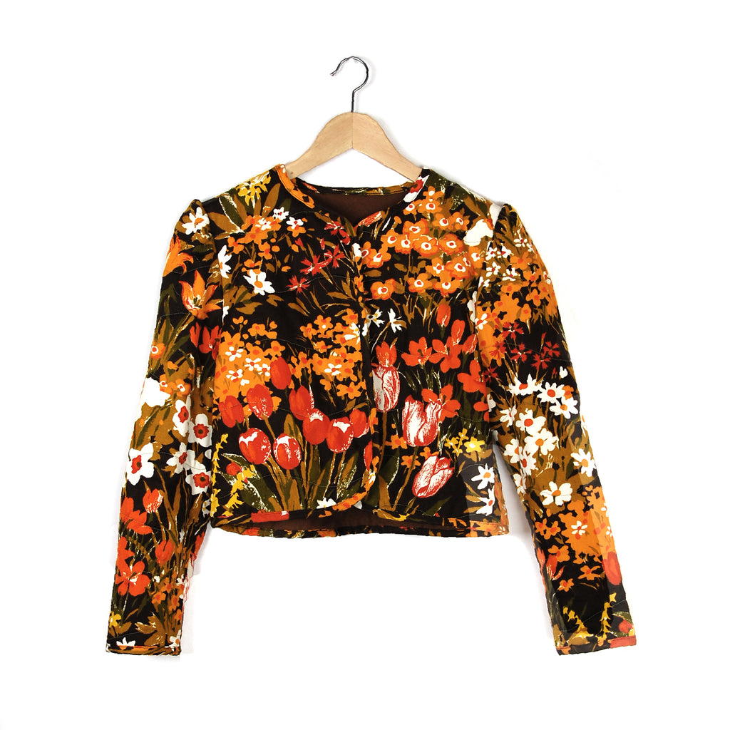 NIGHT BLOOM QUILTED JACKET - Late to the Party