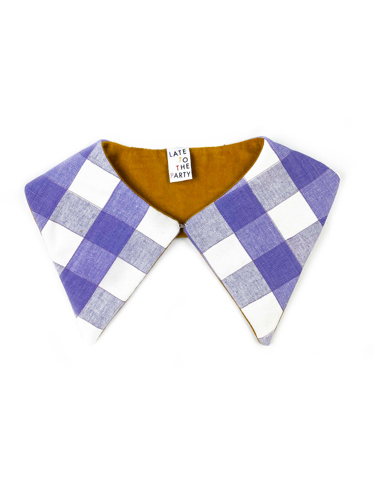 """Lavender Caramel"" Detachable Collar - Late to the Party"