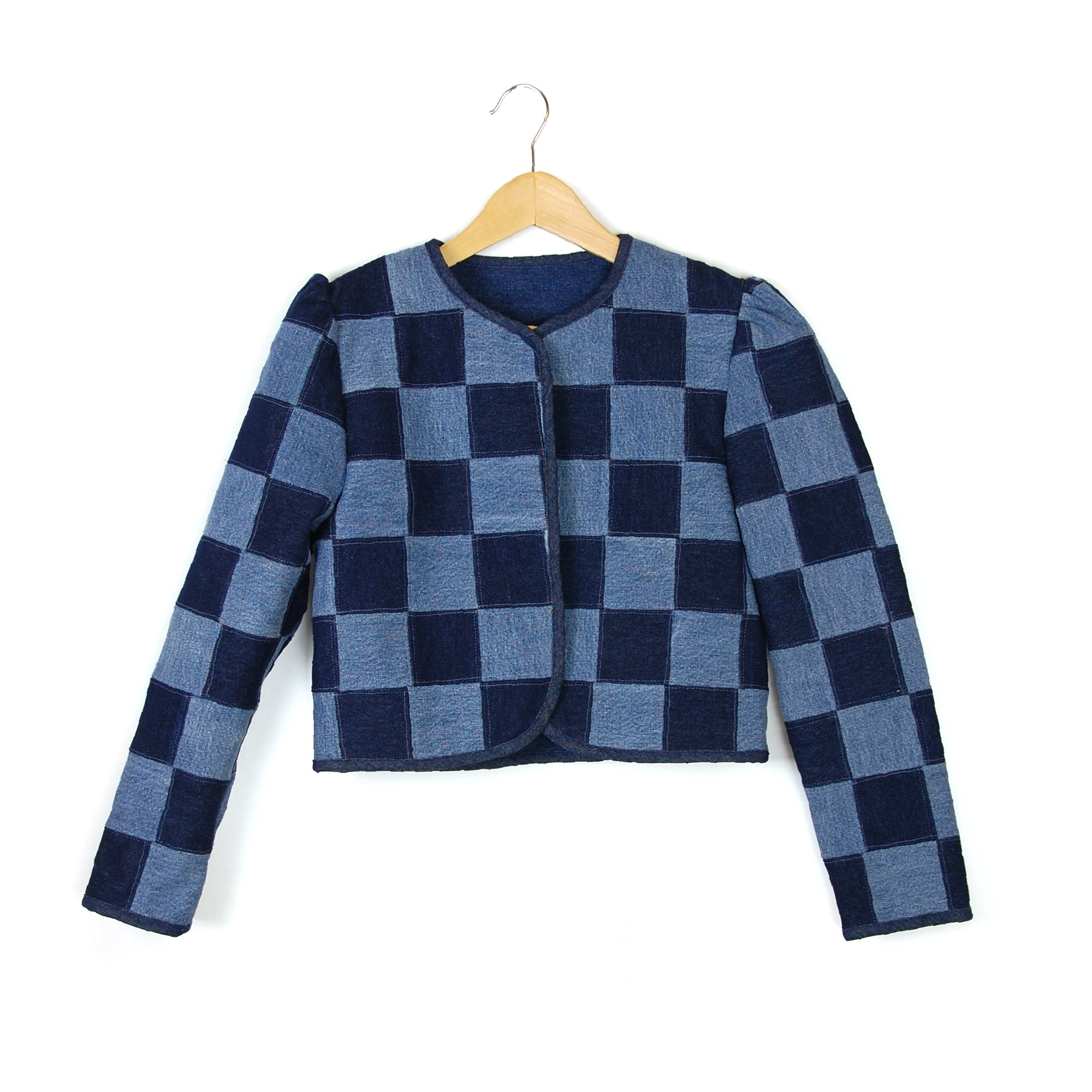 LITTLE CHECK ENERGY 1 PATCHWORK JACKET - Late to the Party