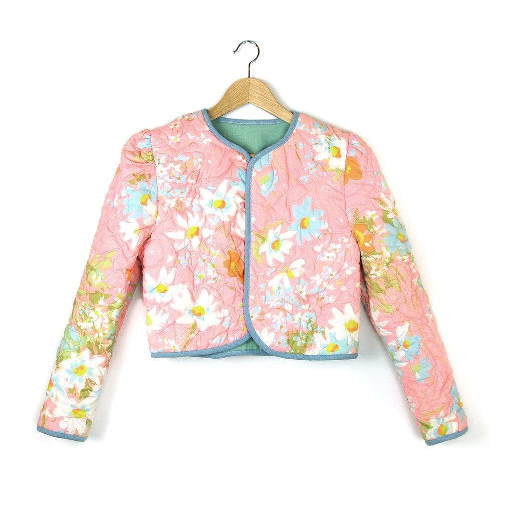 COTTON CANDY GARDEN 2 QUILTED JACKET - Late to the Party
