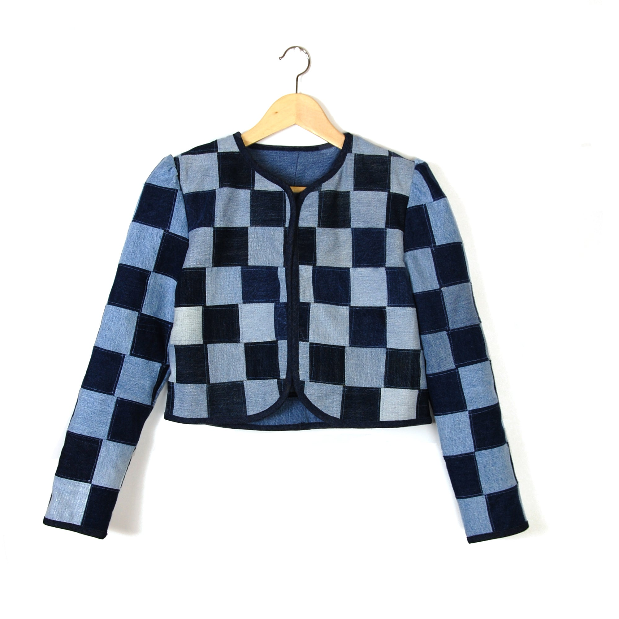 LITTLE CHECK ENERGY 2 PATCHWORK JACKET - Late to the Party