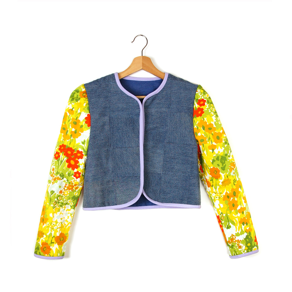 FLOWERS IN THE ATTIC QUILTED JACKET - Late to the Party