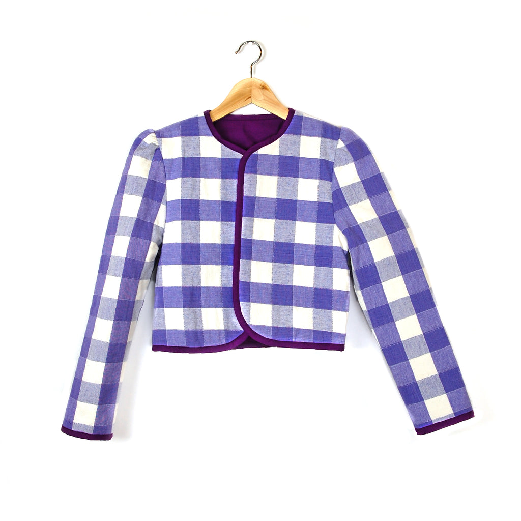 """LAVENDER LUNCH"" QUILTED JACKET - Late to the Party"