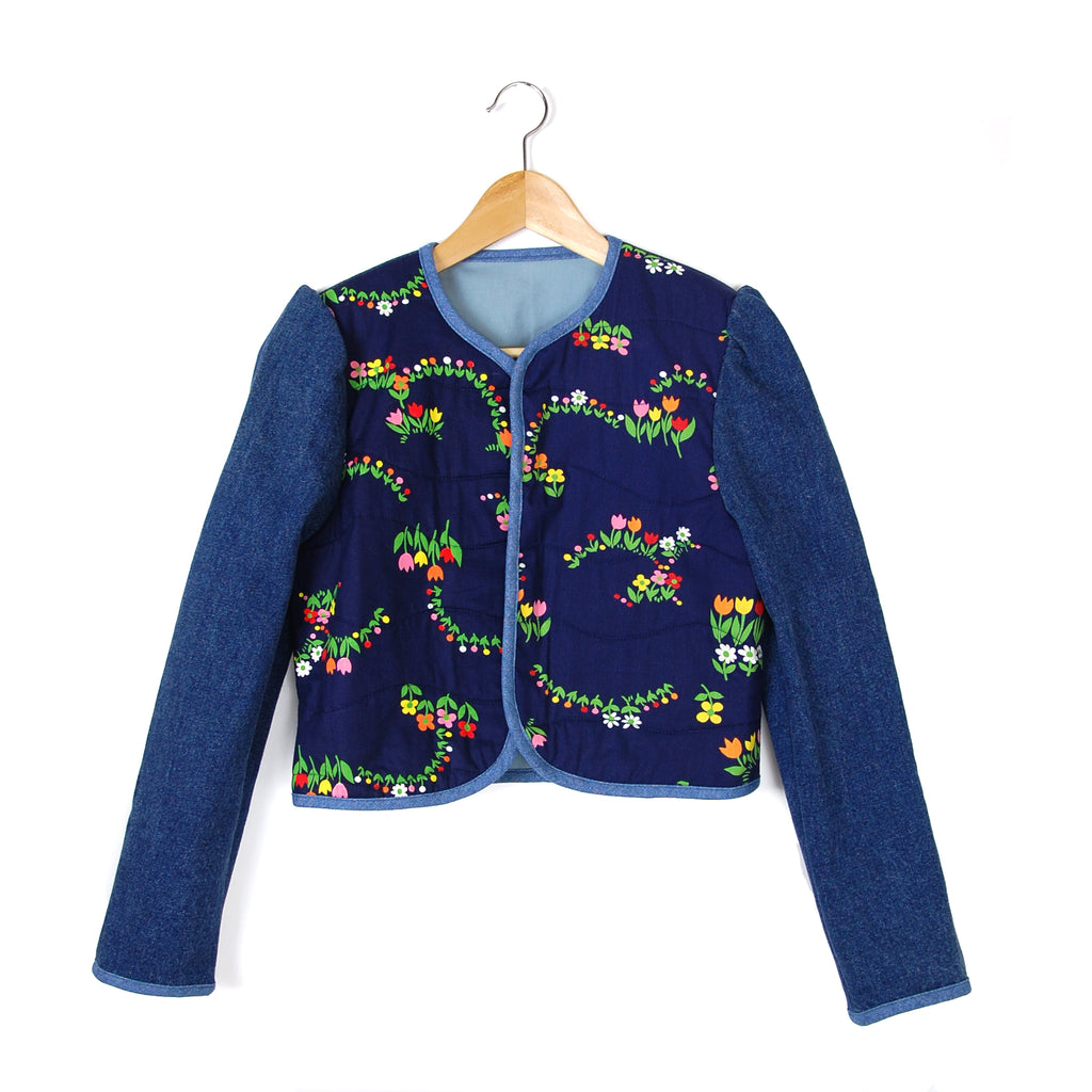 TEENY TULIPS 2 QUILTED JACKET - Late to the Party