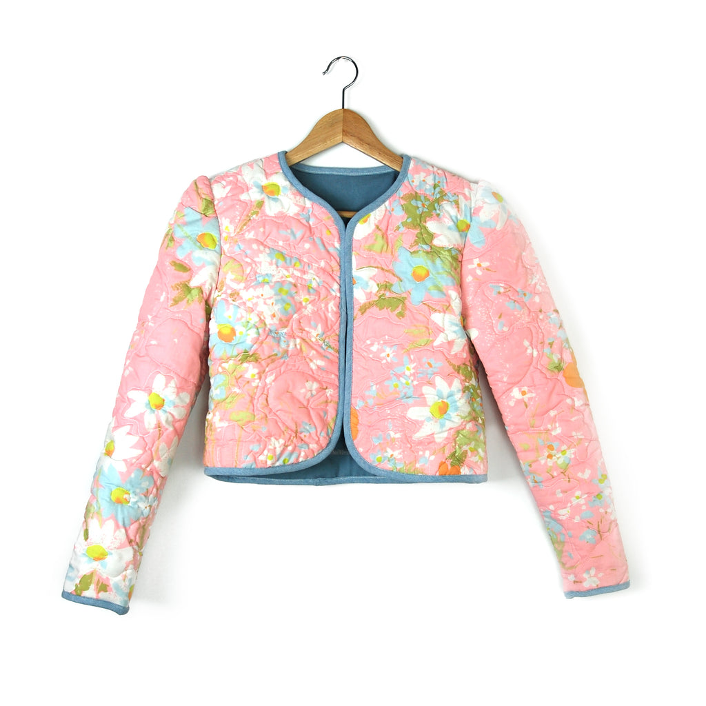 COTTON CANDY GARDEN 1 QUILTED JACKET - Late to the Party