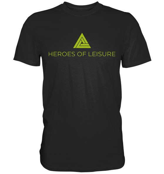 Heroes of Leisure - Premium Shirt