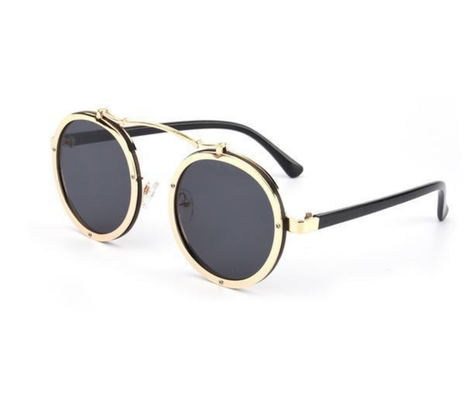 Metal Wrap Sunglasses