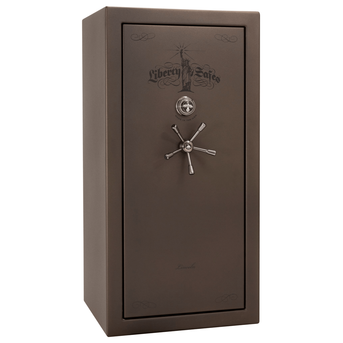 "Lincoln Series | Level 5 Security | 110 Minute Fire Protection | 25 | Dimensions: 60.5""(H) x 30""(W) x 28.5""(D) 