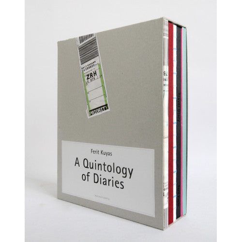 A Quintology Of Diaries by Ferit Kuyas