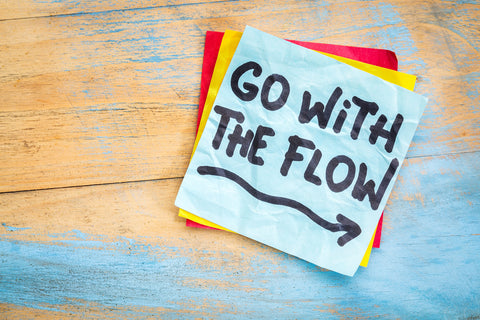 6 steps to allow, let go and go with the flow