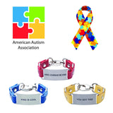 Load image into Gallery viewer, Charity Message Bracelet American Autism Association