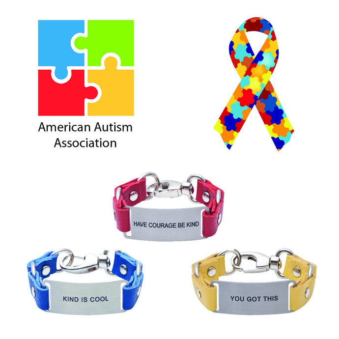 Charity Message Bracelet American Autism Association