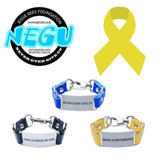 Charity Message Bracelet Jessie Rees Foundation NEGU