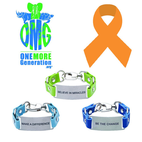 Message Bracelet One More Generation Fighting Plastic