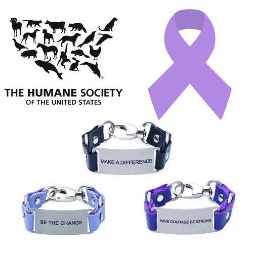 Charity Message Bracelet Humane Society