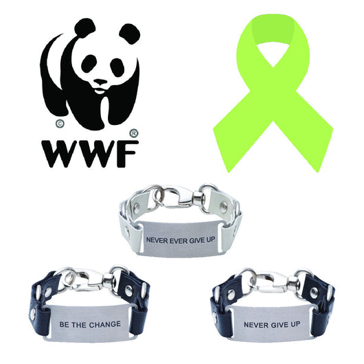 Message Bracelet Worldwide Wildlife Fund Charity