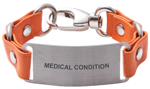 Custom Medical ID Bracelet