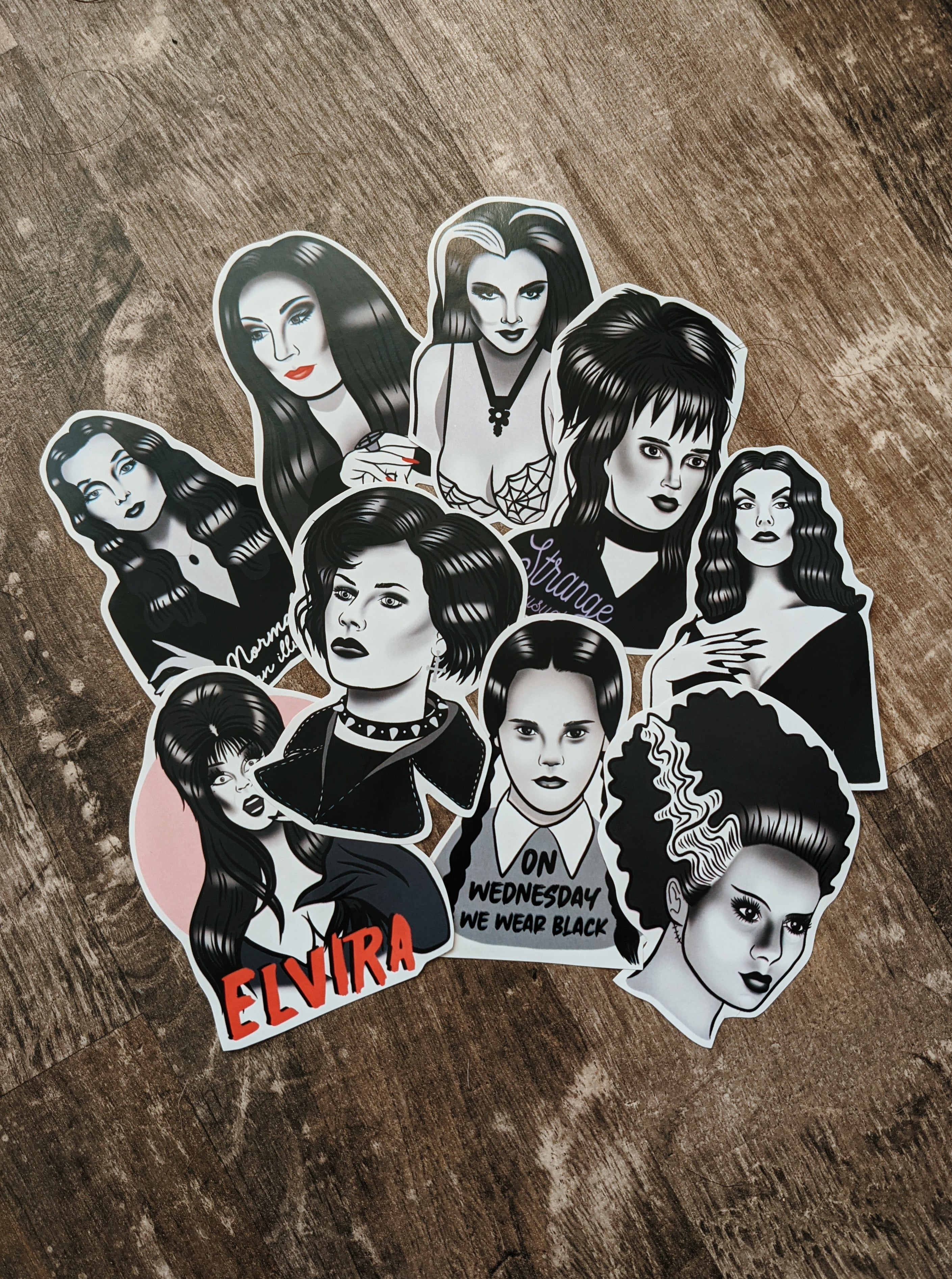 Goth Babes Sticker Pack
