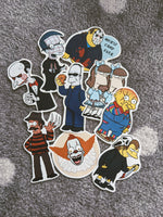 Horror x Simpsons Sticker Pack