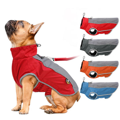 Waterproof vest for dogs