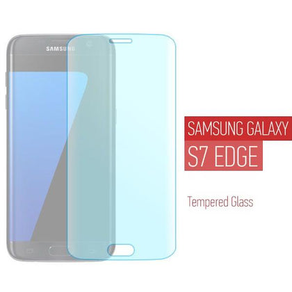 Προστατευτικό τζαμάκι για Samsung Galaxy S7 Edge - Full Face Curved Tempered Glass - Transparent GL-33374