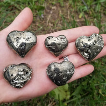 Load image into Gallery viewer, Pyrite Heart