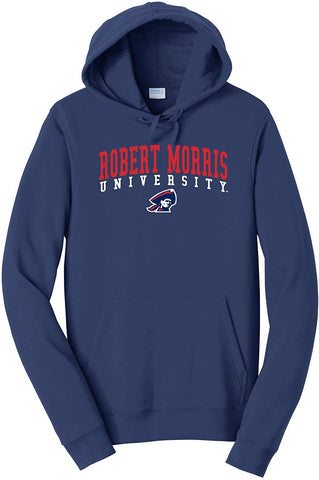 Robert Morris University Colonials NCAA Jumbo Arch Unisex Hooded Sweatshirt