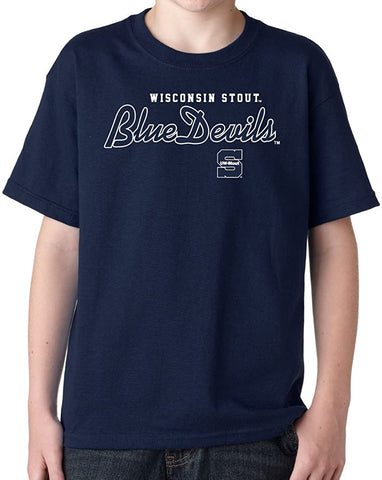 Wisconsin Stout Blue Devils NCAA Youth T-Shirts