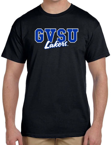 J2 Sport Grand Valley State Lakers NCAA Campus Script Unisex T-Shirt