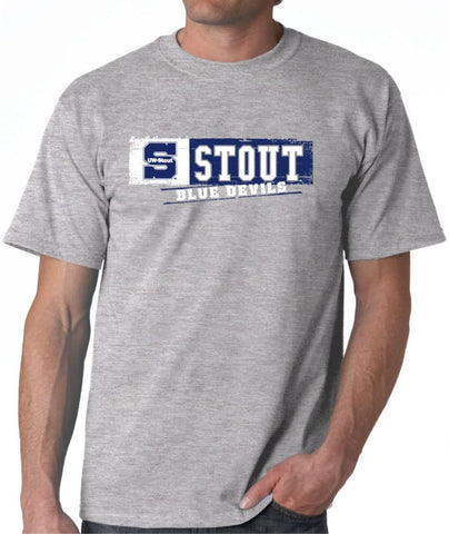 Wisconsin Stout Blue Devils NCAA Sticker Unisex T-Shirt