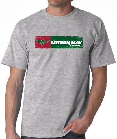 J2 Sport Wisconsin Green Bay Phoenix NCAA Sticker Unisex T-Shirt