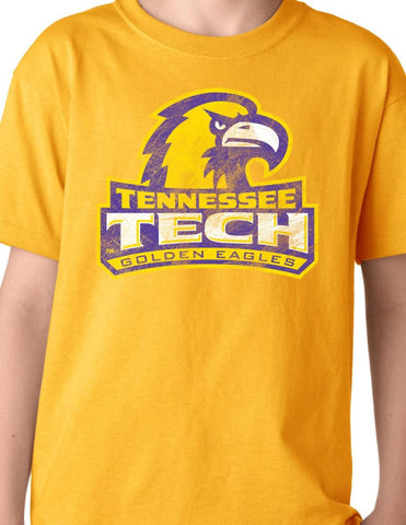 Tennessee Technological University Golden Eagles NCAA Big Mascot Youth T-Shirt